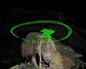 Statuia lui Cristos - scanata 3D cu ajutorul unei drone